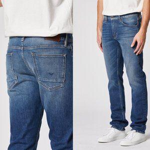 HUDSON Byron Straight Leg Jeans Med Wash 34 x 31